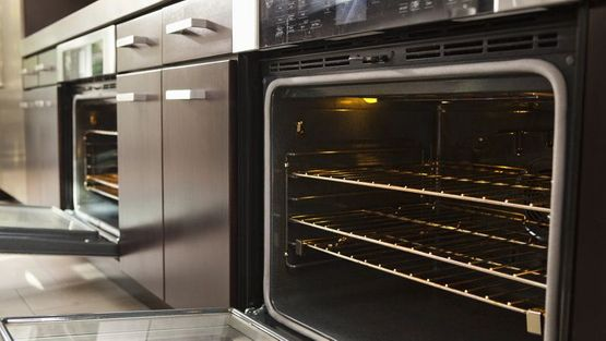 Oven in a domestic home